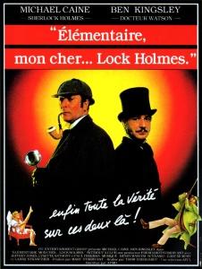 Affiche du film Élémentaire mon cher Lock Holmes