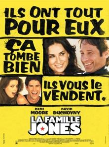 Affiche du film La famille Jones