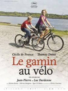 Le gamin au vélo - Affiche