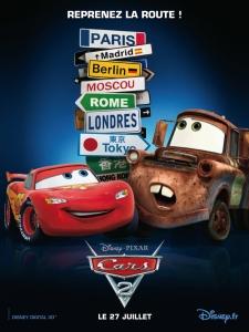Cars 2 : Affiche