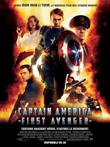 Captain America - First Avenger : Affiche