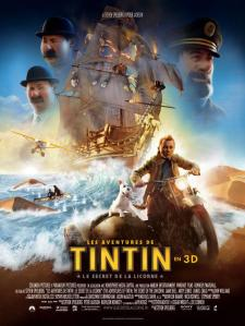 Affiche de Les aventures de Tintin : Le secret de la Licorne