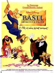 Affiche de Basil, détective privé