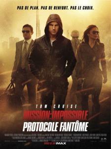 Affiche du film Mission Impossible Protocole fantôme