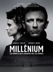 Affiche du film Millenium de David Fincher