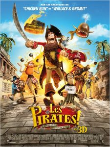 Affiche du film Les Pirates ! Bons à rien, Mauvais en tout