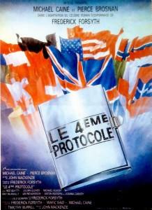 Affiche du film Le quatrième protocole