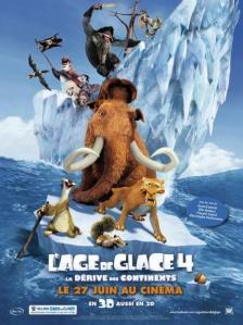 Affiche du film L'âge de glace 4