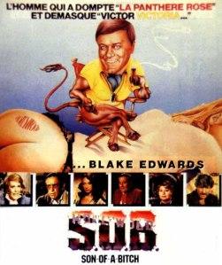 Affiche française du film S.O.B.