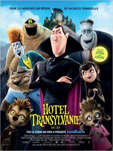 Affiche du film Hôtel Transylvanie