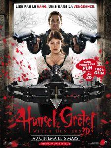Affiche du film Hansel & Gretel : Witch Hunters
