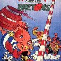 ASTÉRIX CHEZ LES BRETONS de Pino Van Lamsweerde (1986)