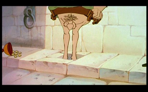Astérix et les indiens - détail