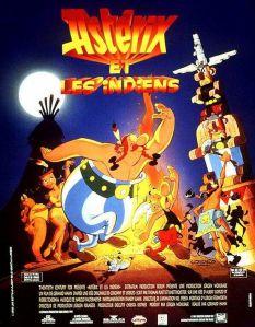 Affiche du film Astérix et les indiens