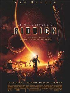 Affiche du film Les chroniques de Riddick
