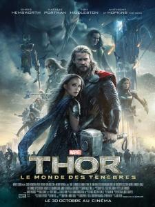 Affiche du film Thor : Le monde des ténèbres