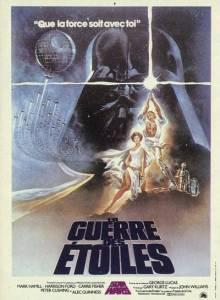 Affiche du film Star Wars 4 : Un nouvel espoir - La guerre des étoiles