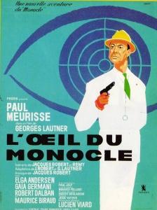 Affiche du film L'oeil du Monocle