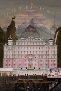 Affiche du film The Grand Budapest Hotel