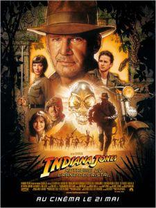 Affiche du film Indiana Jones et le royaume du crâne de cristal