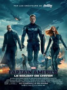 Affiche du film Captain America : Le soldat de l'hiver