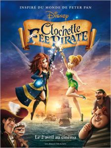 Affiche du film Clochette et la Fée Pirate