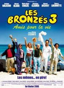 Affiche du film Les bronzés 3 Amis pour la vie