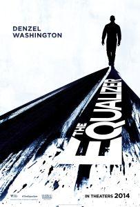 Affiche américaine du film Equalizer