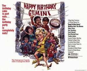 Affiche Happy Birthday Gemini