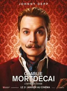 Affiche du film Charlie Mortdecai