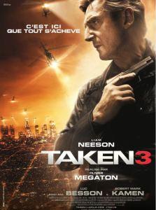 Affiche du film Taken 3