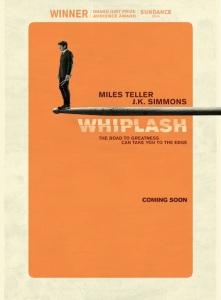 Affiche américaine du film Whiplash