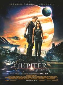 Affiche du film Jupiter, le destin de l'univers