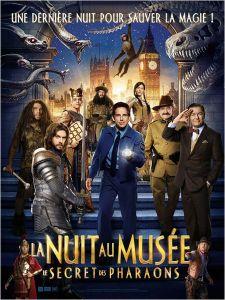 Affiche du film : La nuit au musée 3 : Le secret des pharaons