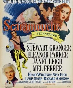 Affiche américaine du film Scaramouche