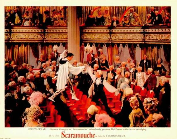 Photo du duel final dans le théâtre