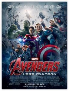 Affiche du film Avengers 2 : l'ère d'Ultron