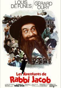 Affiche du film Les aventures de Rabbi JAcob