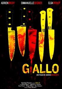 Affiche du film Giallo