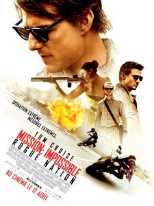 Affiche du film Mission Impossible 5 : Rogue Nation