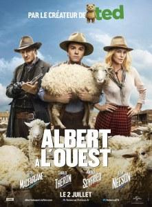 Affiche du film Albert à l'ouest