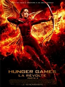 Affiche du film Hunger Games La révolte partie 2