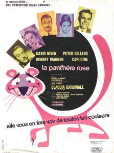 Autre affiche du film La panthère rose