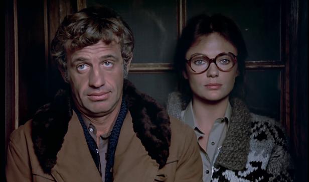 François Merlin et Christine dans Le Magnifique