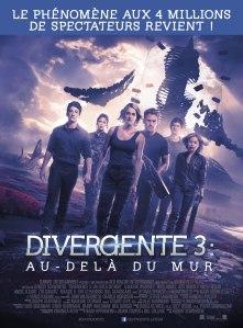 Affiche du film Divergente 3