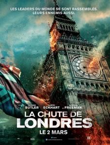 Affiche du film La chute de Londres