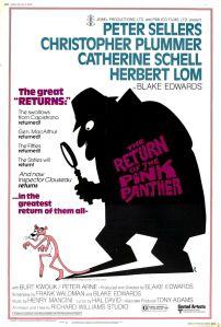 Affiche du film Le retour de la panthère rose