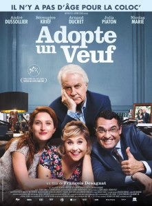 Affiche du film Adopte un veuf