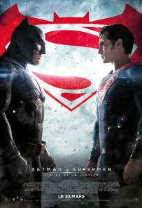 Affiche du film Batman v Superman