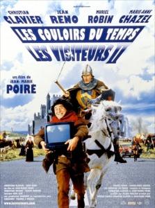 Affiche du film Les visiteurs 2 Les couloirs du temps
